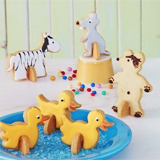 Backen-Thema-Tiere