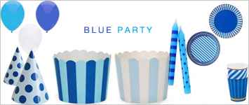 Party-Themenserie: Blau Party