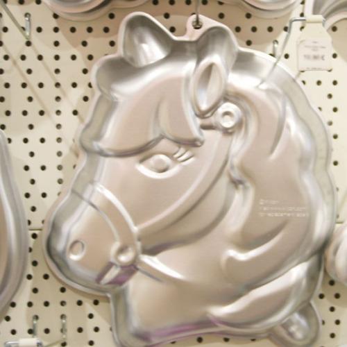 Wilton Backform Party Pony Pferd Meincupcake Shop