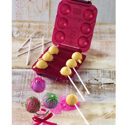 birkmann cake pops maker former 6 fach mit 12 stiele und rezepten meincupcake shop. Black Bedroom Furniture Sets. Home Design Ideas