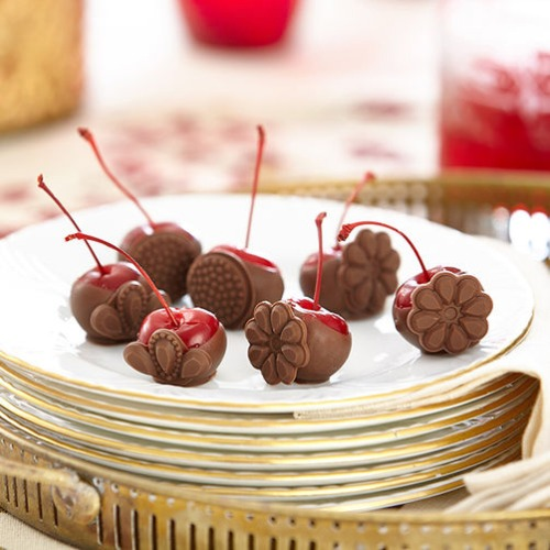 Wilton Silikonform Fondant Cupcakes Edelsteine Perlen