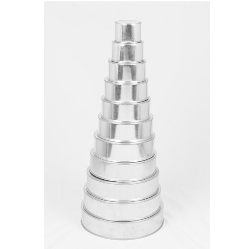 euro tins 11er backformen set rund durchmesser ca 10 35 5 cm meincupcake shop. Black Bedroom Furniture Sets. Home Design Ideas