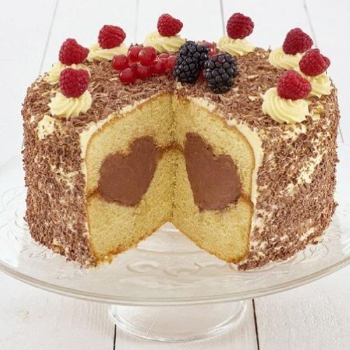 2 Backformen Aus Silikon Fur Herzfullung Torte 21 Cm Meincupcake Shop