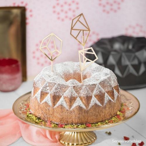 Kaiser Geometrischer Gugelhupf 25 Cm Meincupcake Shop
