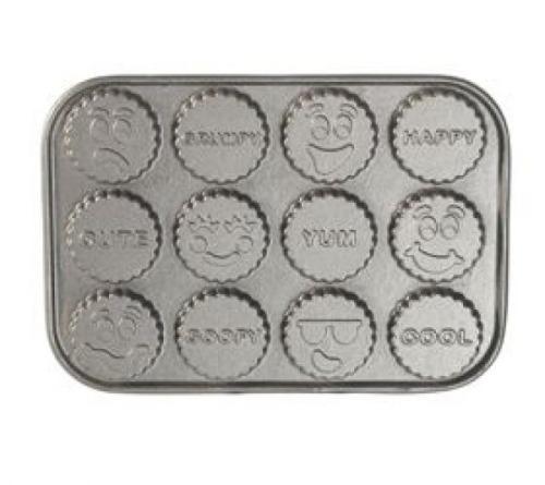 Nordic Ware Backform Lustige Gesichter 33 X 22 X 1 2 Cm