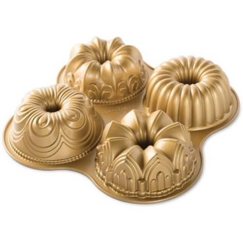 nordic ware 3d backformen bundt quartett 31 x 31 x 7 cm meincupcake shop. Black Bedroom Furniture Sets. Home Design Ideas