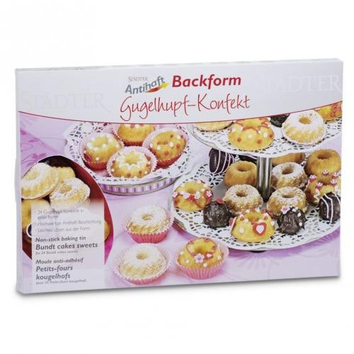 backform mini gugelhupf 24er antihaft meincupcake shop. Black Bedroom Furniture Sets. Home Design Ideas