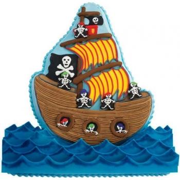 Wilton Backform Piratenschiff Xl Meincupcake Shop