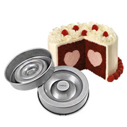 Wilton Backformen Heart Tasty Fill Gefullter Kuchen 22 Cm