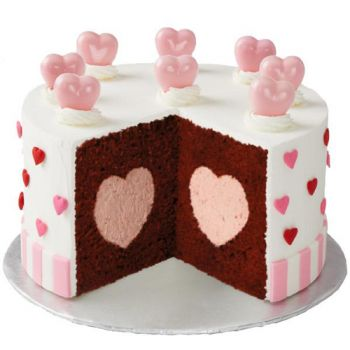 Wilton Backformen Heart Tasty Fill Gefullter Kuchen 22 Cm