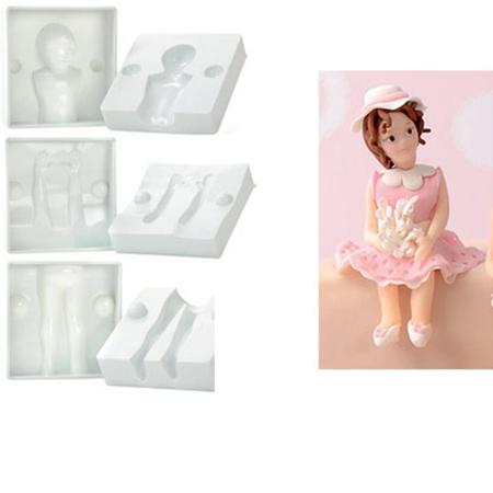 modecor silikonform tortendeko 39 kind 39 zum selbermachen 6 teilig meincupcake shop. Black Bedroom Furniture Sets. Home Design Ideas