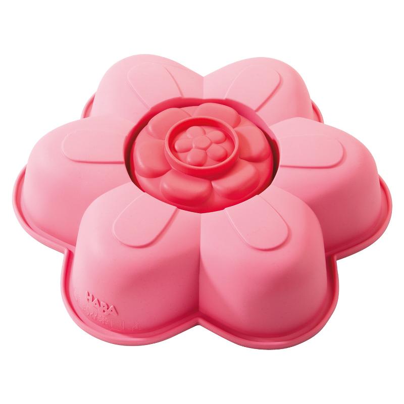 haba silikon backform sommerblume rosa 19 cm meincupcake shop. Black Bedroom Furniture Sets. Home Design Ideas