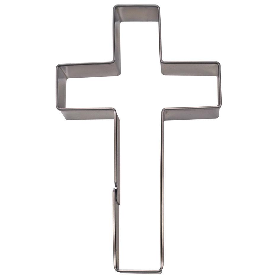 Wilton Backform Kreuz, XL, Alu | MEINCUPCAKE Shop