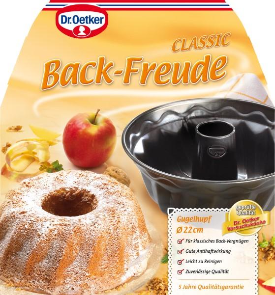 dr oetker profi backform gugelhupf backform 22 cm meincupcake shop. Black Bedroom Furniture Sets. Home Design Ideas