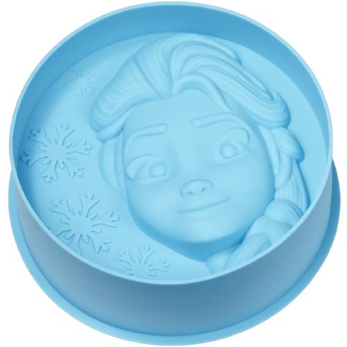 Silikonbackform Frozen, Eiskönigin Elsa | MEINCUPCAKE Shop