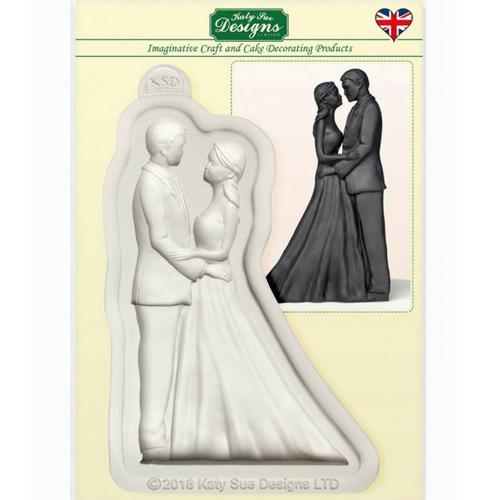 Silikonform Hochzeitstorte Brautpaar Selber Herstellen 2 Teilig
