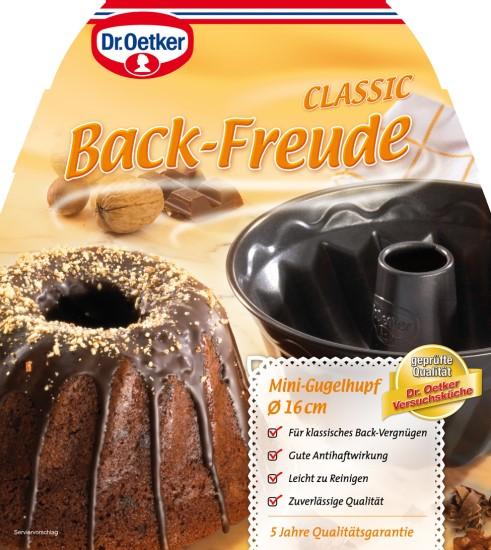 dr oetker profi backform gugelhupf backform 18 cm meincupcake shop. Black Bedroom Furniture Sets. Home Design Ideas