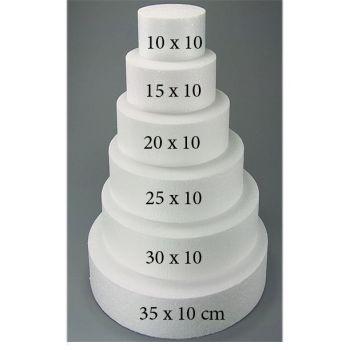 Torten Dummy Rund Hochzeitstorte Extra Hoch 10 X 10 Cm