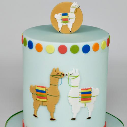 Fondant Ausstecher Lama 2 Stuck Meincupcake Shop