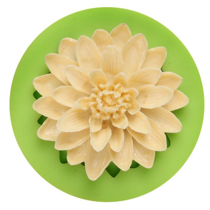 Silikonform Schneeflocken Blume Mould Tortendeko Fondant Kuchenform Backform DIY