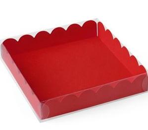 macarons schachtel mit deckel f r 9 macarons kekse rot meincupcake shop. Black Bedroom Furniture Sets. Home Design Ideas