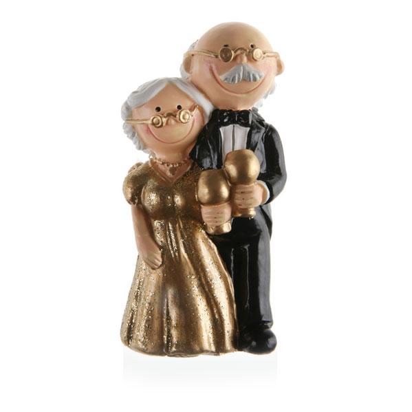 Hochzeitsfigur Gold 45 X 10 Cm Meincupcake Shop