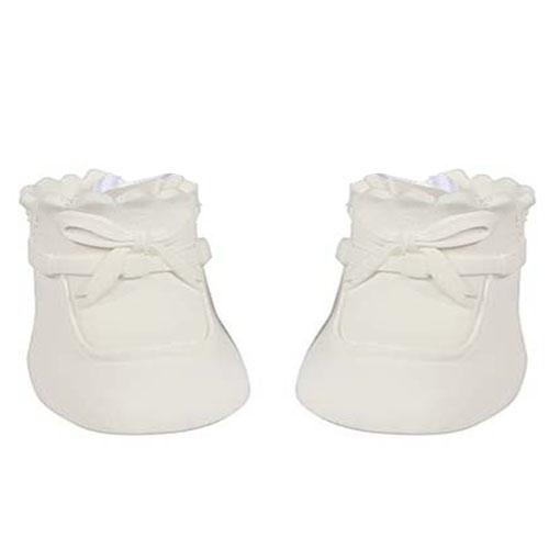 Tortendeko Babyschuhe Weiß Nicht Essbar 62 Cm
