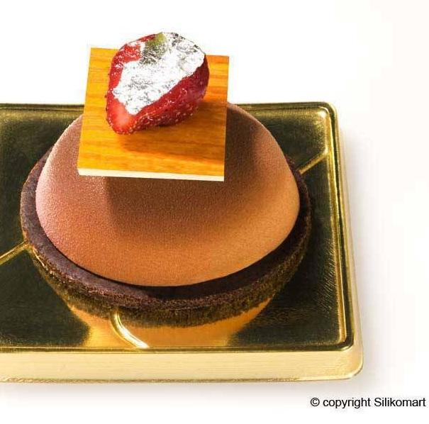 Silikomart Backform Halbkugel Cake Pops 6 Formen A 6 X 3 Cm