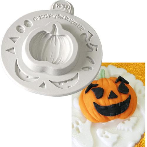 Katy Sue silikonform Cupcakes Deko Halloween-Kürbis 4 x 4 cm ...
