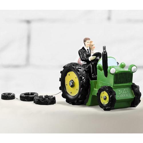 Hochzeitsfigur Traktor Meincupcake Shop