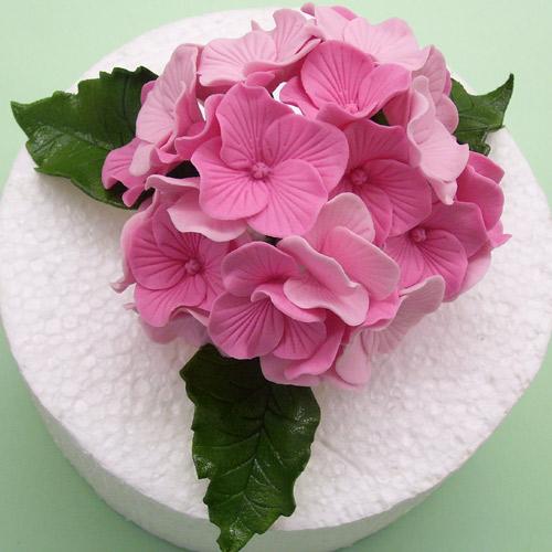 Fondant formen hortensien 4er set meincupcake shop - Como cuidar una hortensia de exterior ...