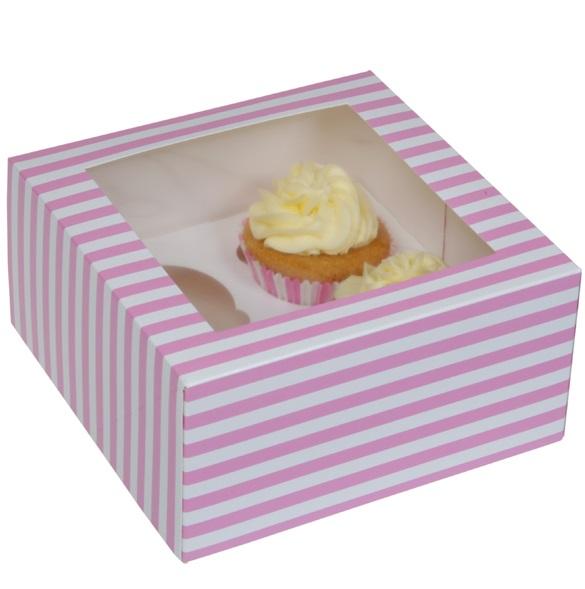 pink House of Marie 12er Mini Cupcake Box