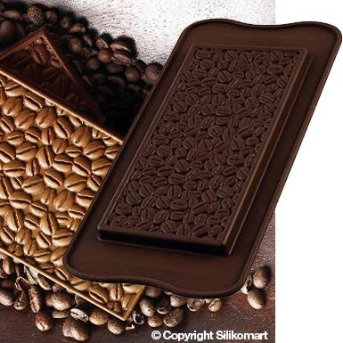 silikonform kaffeebohnen pralinenform ca 15 5 x 7 5 x 0 85 cm meincupcake shop. Black Bedroom Furniture Sets. Home Design Ideas