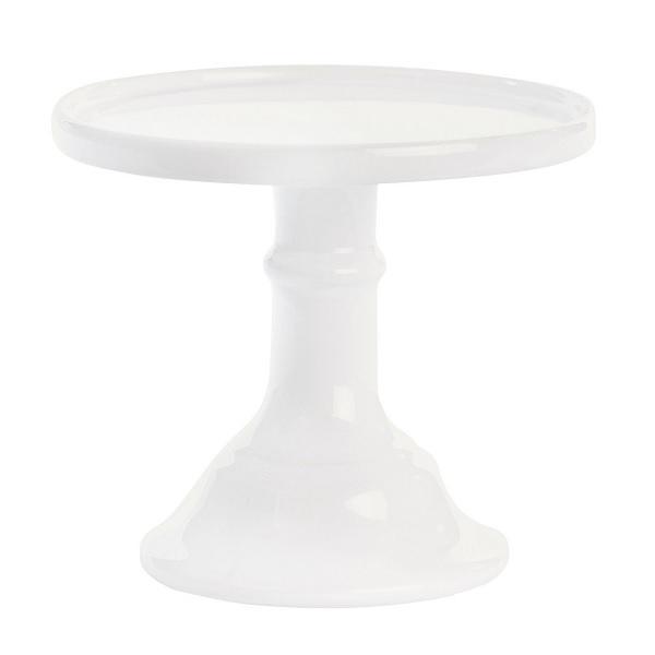 Tortenständer miss étoile tortenständer mit fuß weiß 16 x 14 cm meincupcake shop