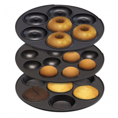 3 In 1 Cupcake Maker Aicok Sandwich Maker Waffle Maker