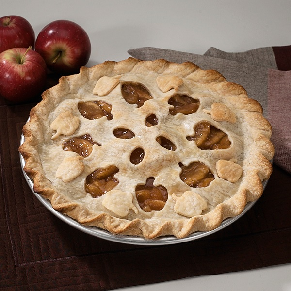 Nordic Ware Pie Ausstecher Apfel Und Blattergitter 31 Cm
