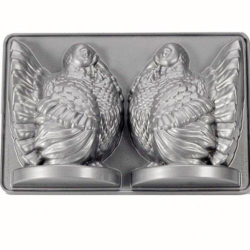 Nordic Ware 3D Backform Truthahn, 38 x 22 x 8 cm