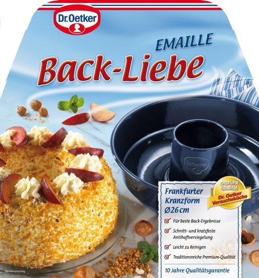 dr oetker profi emaille backform 39 frankfurter kranz 39 26 cm meincupcake shop. Black Bedroom Furniture Sets. Home Design Ideas