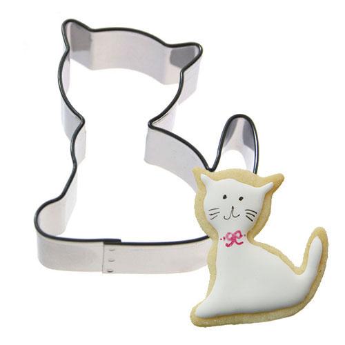 Weihnachtsplätzchen International.Plätzchen Ausstecher Katze 5 Cm Meincupcake Shop