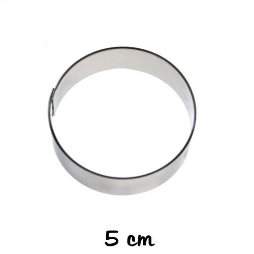 Birkmann Ausstechform Zahl 5 Ausstecher Plätzchenform Plätzchen Edelstahl 6 cm