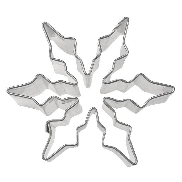 Ausstecher Ausstechform Eiskristall 6 Cm Fur Kekse Platzchen
