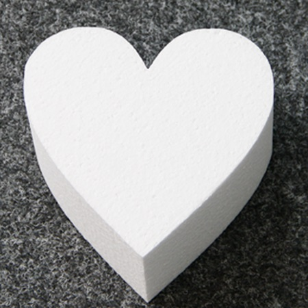 Torten Dummy Fur Hochzeitstorte Herz 25 X 7 Cm Meincupcake Shop