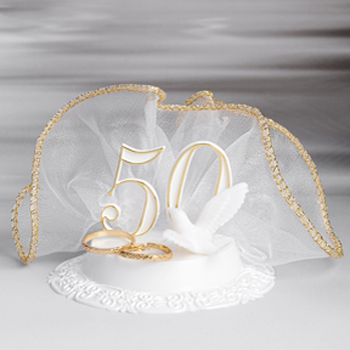 Tortendeko Figur Für Goldene Hochzeit Meincupcake Shop