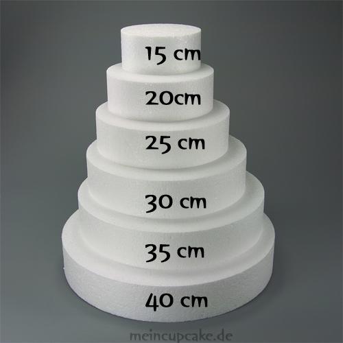 Torten Dummy Rund Schautorten Hochzeitstorte 25 X 7 Cm