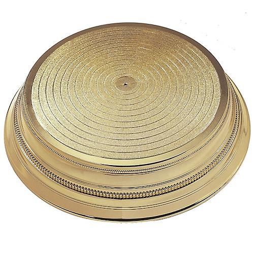 kunststoff tortenst nder hochzeitstorte gold rund 35 cm meincupcake shop. Black Bedroom Furniture Sets. Home Design Ideas