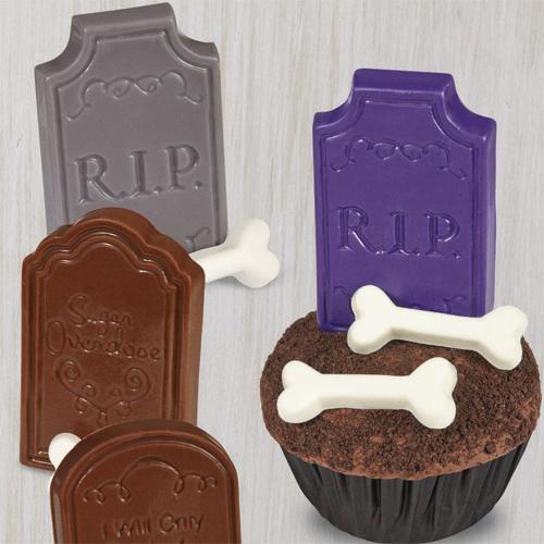 Halloween Pralinenform Knochen 6 Designs 20 Mulden Meincupcake Shop