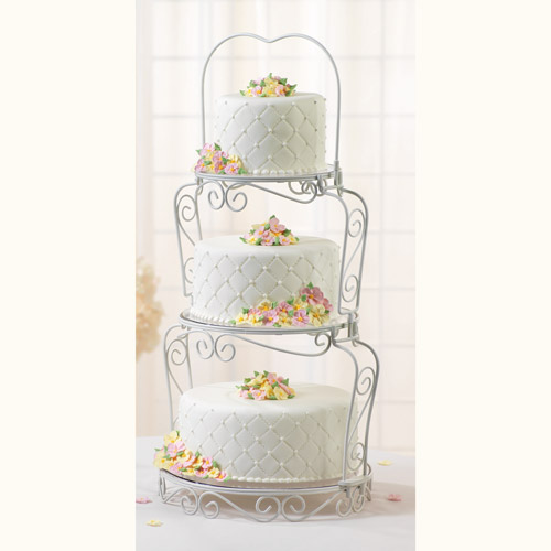 Graceful  Tiers Cake Stand By Wilton