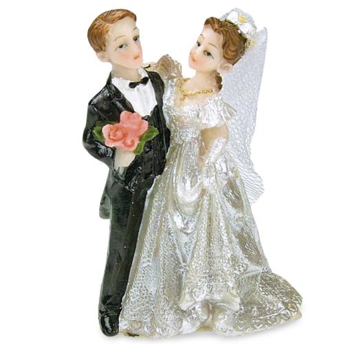 Wilton Tortendekoration Figuren Fur Hochzeitstorte Plastik 15 Cm
