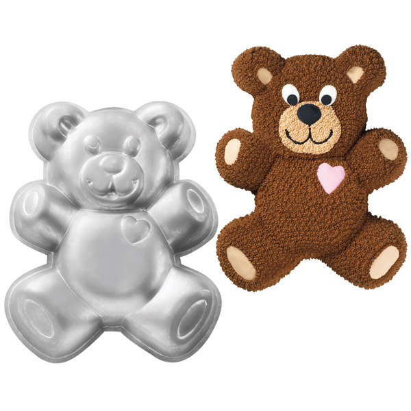 Wilton Backform Teddybär, XL, Alu | MEINCUPCAKE Shop