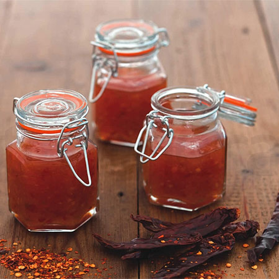 Marmeladengläser